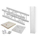 ALUTRUSS ALUTRUSS Set QUADLOCK Truss stand 100cm + Wooden panel