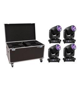 EUROLITE EUROLITE Set 4x LED TMH-X10 Beam + Case