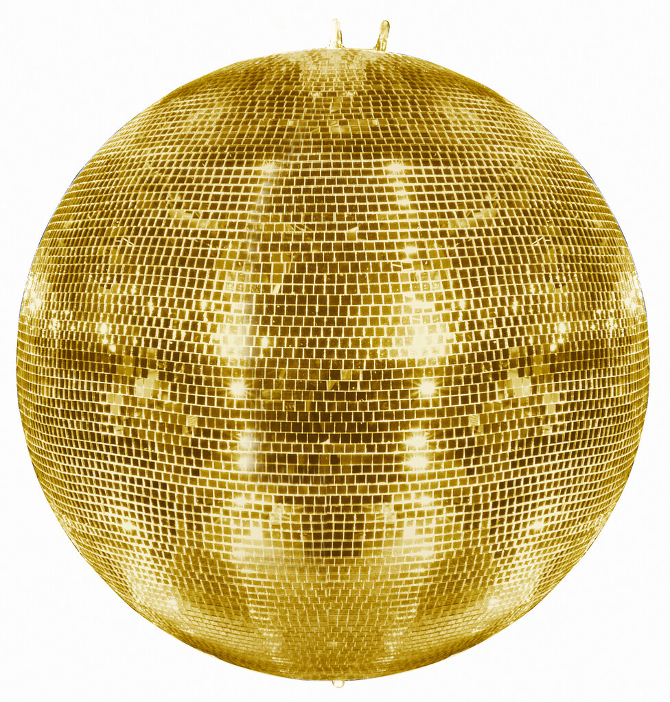 EUROLITE EUROLITE Mirror Ball 100cm gold