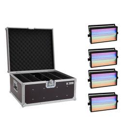 EUROLITE EUROLITE Set 4x LED Super Strobe ABL + Case