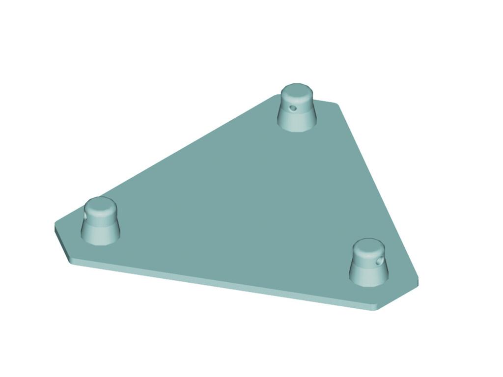 ALUTRUSS ALUTRUSS DECOLOCK DQ3S-BPM Base Plate MALE bl