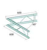 ALUTRUSS ALUTRUSS DECOLOCK DQ2-SPAC20V 2-way Corner 60° bk