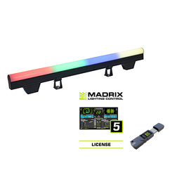EUROLITE EUROLITE Set 10x LED PT-100/32 Pixel DMX Tube + MADRIX Software + KEY