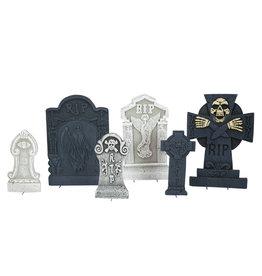 "EUROPALMS EUROPALMS Halloween Tombstone Set ""Cemetary"""