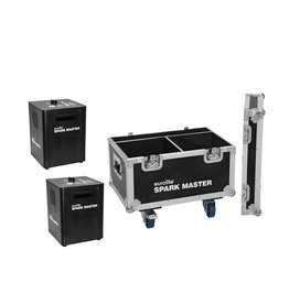 EUROLITE EUROLITE Set 2x Spark Master + Case