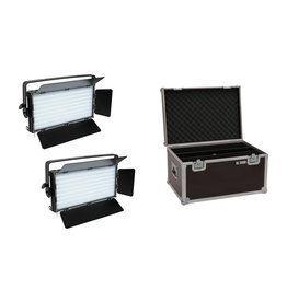 EUROLITE EUROLITE Set 2x LED PLL-480 CW/WW Panel + Case
