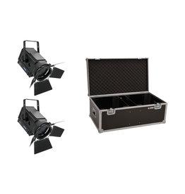 EUROLITE EUROLITE Set 2x LED THA-150F + Case