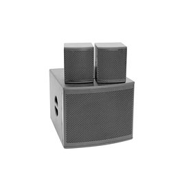 OMNITRONIC OMNITRONIC Set MOLLY-12A Subwoofer active + 2x MOLLY-6 Top 8 Ohm, black