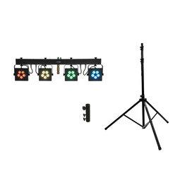 EUROLITE EUROLITE Set LED KLS-902 + M-4 Speaker-System Stand