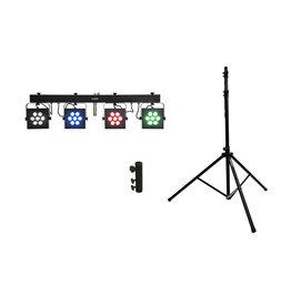 EUROLITE EUROLITE Set LED KLS-3002 + M-4 Speaker-System Stand