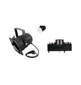 EUROLITE EUROLITE Set DIY PAR-38 Spot + Multi adapter, 3 phases, black