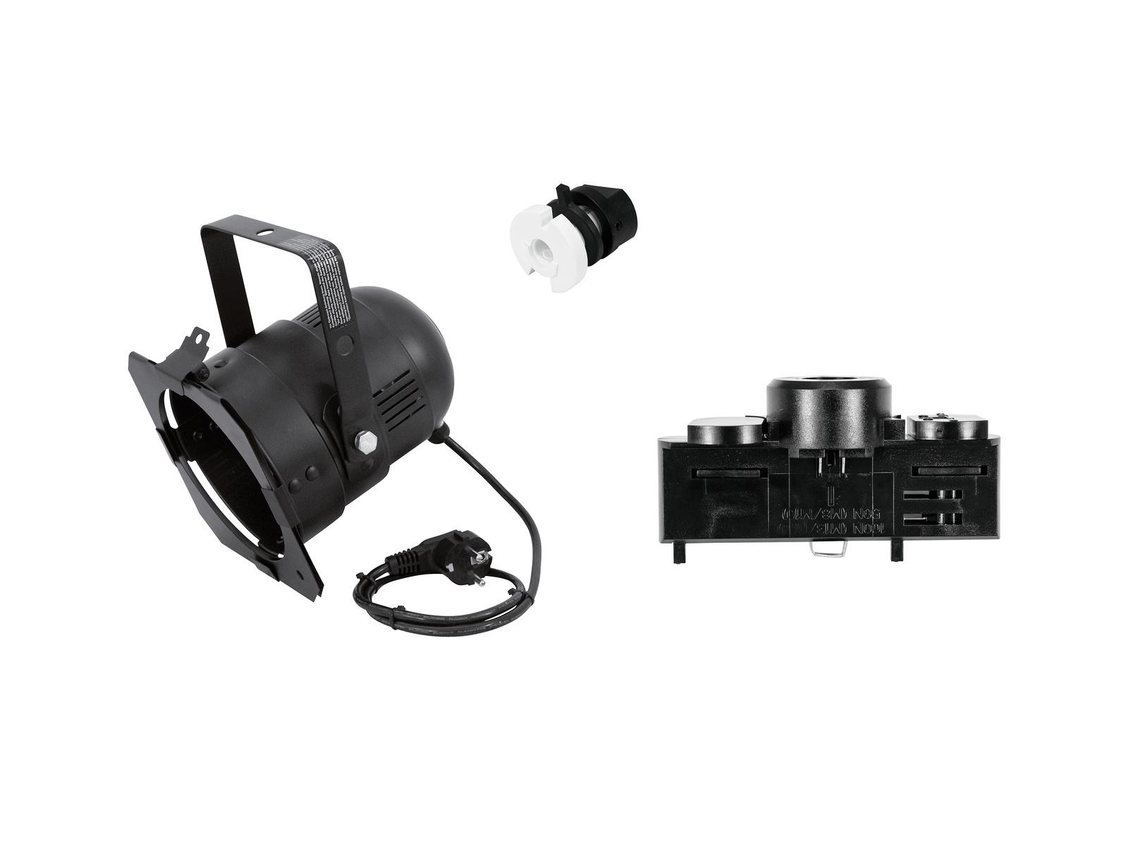 EUROLITE EUROLITE Set DIY PAR-38 Spot + Multi adapter, 3 phases, black