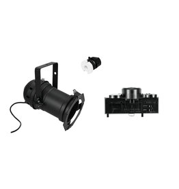 EUROLITE EUROLITE Set DIY PAR-46 Spot E-27 + Multi adapter, 3 phases, black