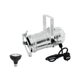EUROLITE EUROLITE Set PAR-30 Spot sil+ PAR-30 230V COB 12W E-27 LED 1800-3000K dim2warm