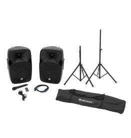 OMNITRONIC OMNITRONIC Set XFM-212AP + Speaker stand MOVE MK2