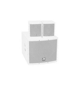 OMNITRONIC OMNITRONIC Set MOLLY-12A Subwoofer active + 2x MOLLY-6 Top 8 Ohm, white
