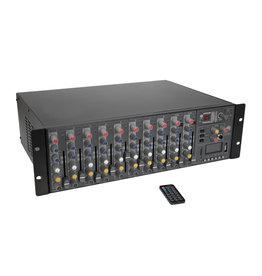 OMNITRONIC OMNITRONIC RM-1422FXA USB Rack Power Mixer