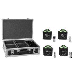 EUROLITE EUROLITE Set 4x LED TL-3 RGB+UV Trusslight + Case