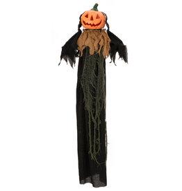 EUROPALMS EUROPALMS Halloween Figure Pumpkin Head, animated 115cm