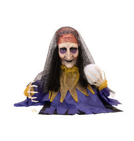 EUROPALMS EUROPALMS Halloween Figure Fortune Teller, animated 50cm