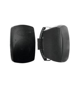 OMNITRONIC OMNITRONIC OD-6T Wall speaker 100V black 2x