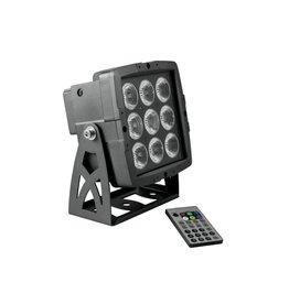 EUROLITE EUROLITE LED IP PAD 9x8W HCL