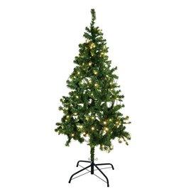 EUROPALMS EUROPALMS Christmas tree, illuminated, 210cm