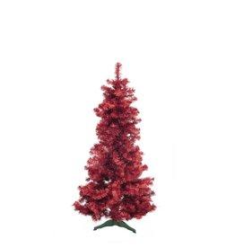 EUROPALMS EUROPALMS Fir tree FUTURA, red metallic, 180cm