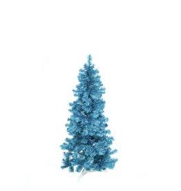 EUROPALMS EUROPALMS Fir tree FUTURA, turquoise metallic,180cm