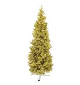 EUROPALMS EUROPALMS Fir tree FUTURA, gold metallic, 210cm