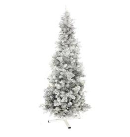 EUROPALMS EUROPALMS Fir tree FUTURA, silver metallic, 210cm