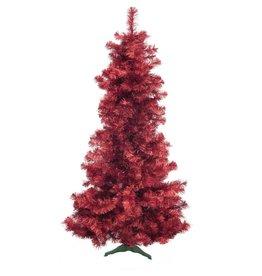 EUROPALMS EUROPALMS Fir tree FUTURA, red metallic, 210cm