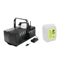 EUROLITE EUROLITE Set Dynamic Fog 1500 Flex + Smoke fluid -P2D- 5l
