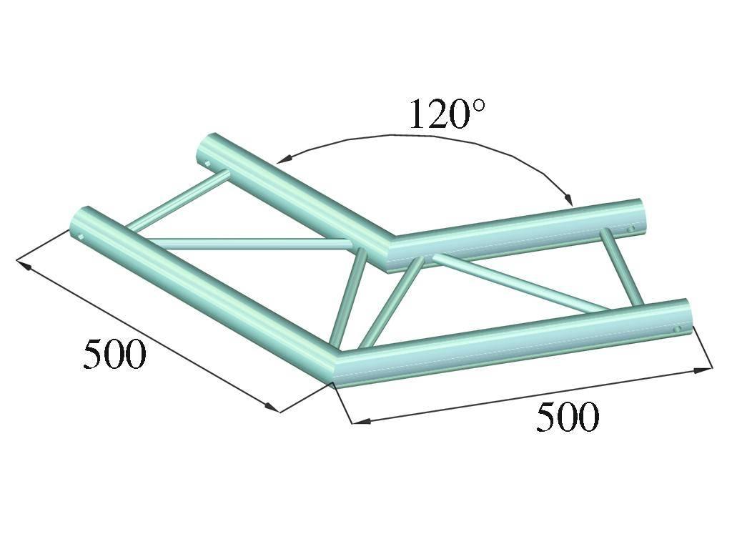 ALUTRUSS ALUTRUSS BILOCK E-GL22 C22-H 2-way corner 120°