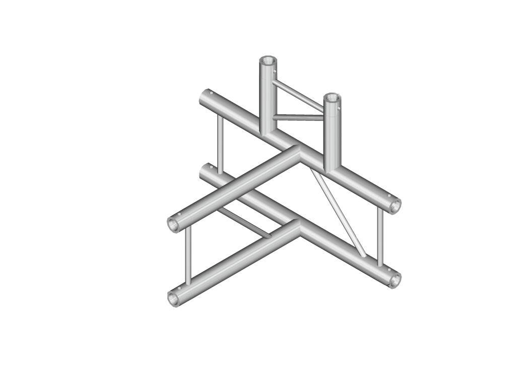 ALUTRUSS ALUTRUSS BILOCK E-GL22 T42-H 4-way corner 90°