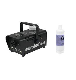 EUROLITE EUROLITE Set N-11 LED Hybrid amber fog machine + A2D Action smok