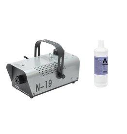 EUROLITE EUROLITE Set N-19 Smoke machine silver + A2D Action smoke fluid