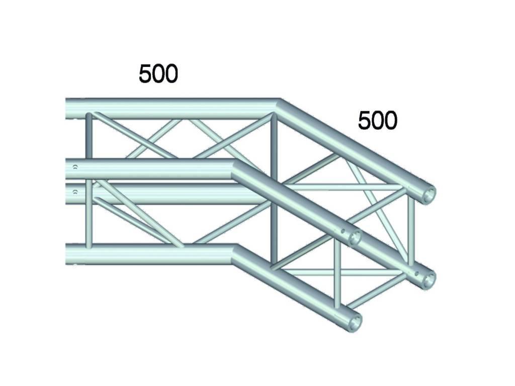 ALUTRUSS ALUTRUSS QUADLOCK GL400-C23 2-way corner 135°