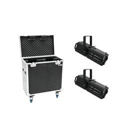 EUROLITE EUROLITE Set 2x LED PFE-100 RGBW + Case
