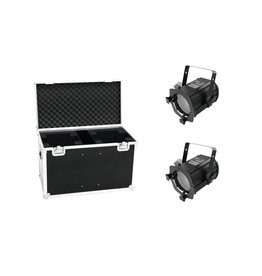 EUROLITE EUROLITE Set 2x LED THA-50F + Case