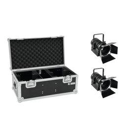 EUROLITE EUROLITE Set 2x LED THA-60PC + Case