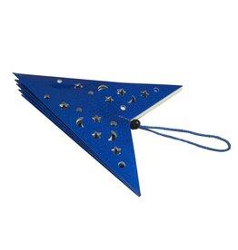 EUROPALMS EUROPALMS Star Lantern, Paper, blue, 75 cm