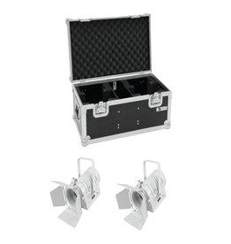 EUROLITE EUROLITE Set 2x LED THA-40PC wh + Case