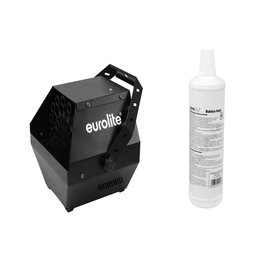 EUROLITE EUROLITE Set B-90 Bubble machine black + bubble fluid 1l