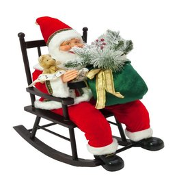 EUROPALMS EUROPALMS Santaclaus with rocking chair, 80cm