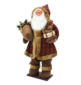 EUROPALMS EUROPALMS Bushy beard Santa, inflatable with integrated pump, 16