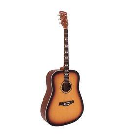 DIMAVERY DIMAVERY STW-40 Western guitar, sunburst