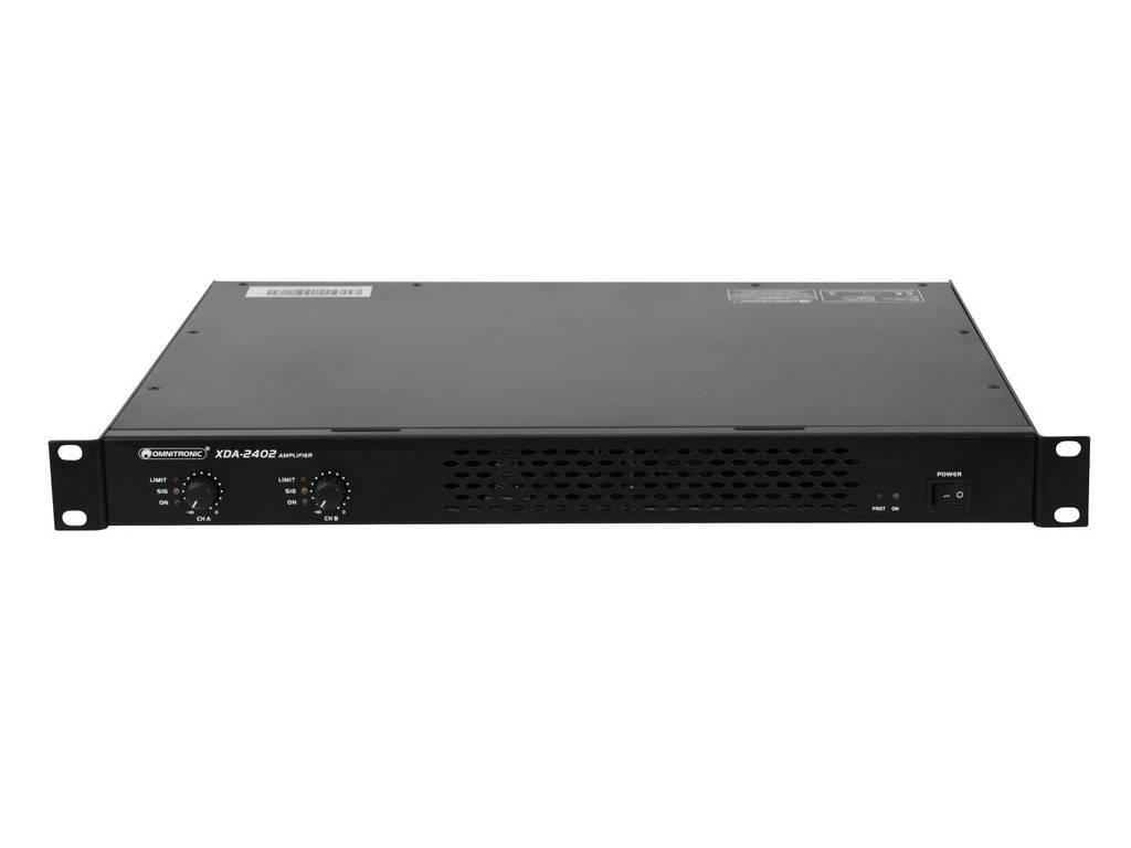 OMNITRONIC OMNITRONIC XDA-2402 Class D amplifier