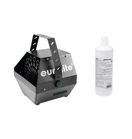 EUROLITE EUROLITE Set B-100 Bubble machine black DMX + bubble fluid 1l