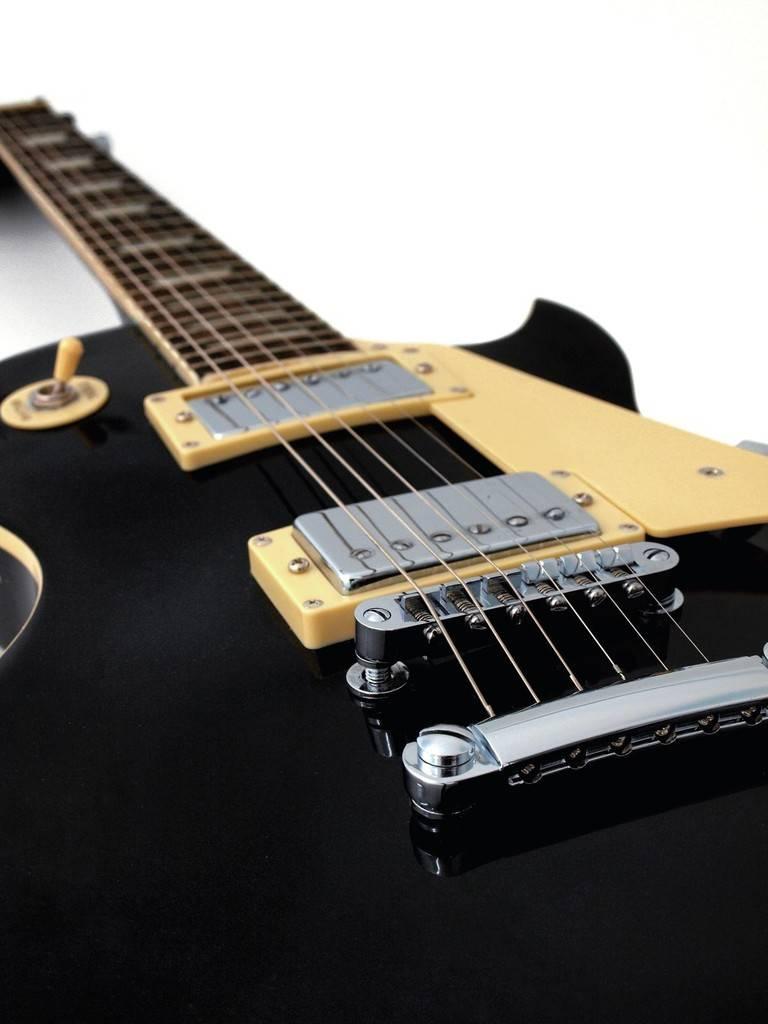 DIMAVERY DIMAVERY LP-520 E-Guitar, black